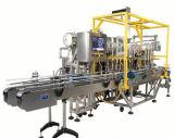 Автоматический линейный тип машина для прикрепления этикеток машины завалки пищевого масла