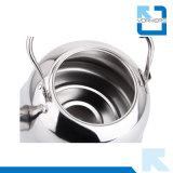 De draagbare Fluitende Ketel van de Pot van de Thee van het Roestvrij staal 4L/5L/6L