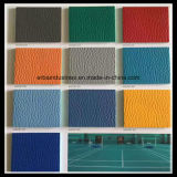 Couleurs variées de Litchi Pattern Sports Flooring Stock Available