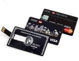 선전용 유명한 카드 Cardiet 카드 USB 섬광 드라이브 지팡이
