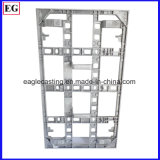 1250 toneladas hicieron el sostenedor de la pantalla de visualización del LCD, cabina del LCD a presión piezas de la fundición
