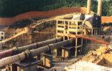 planta do cimento 1500tpd/estufa giratória/moinho de esfera/imprensa do rolo