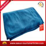 Coperta di colore solido del filetto del tessuto del cotone di estate, coperta normale di linea aerea del commercio all'ingrosso