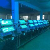 72PCS 8W 4in1 LED Wand-waschende Lichter