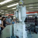 A linha de produção plástico da folha do plástico 800mm embarca a linha da extrusão