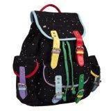 Cotton Canvas Made Ladies Leisure Drawstring Rucksack Backpack