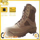 De goedkope Laarzen van de Woestijn van het Leer van de Koe van het Suède Militaire Delta