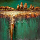Het abstracte Olieverfschilderij van de Ambacht (ZH3219)