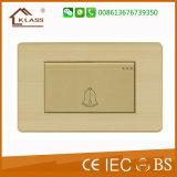 IEC, CE, сертификат SASO двери Bell настенный переключатель