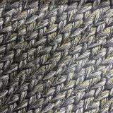 Material elegante do couro da cortiça do couro do Wood-Grain para a sapata (HS-M310)