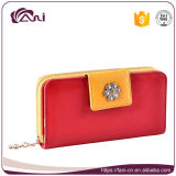 PU 형식 여자 긴 지갑 숙녀 가죽 전화는 여성 우연한 동전 돈 지갑 여자의 카드 홀더를 자루에 넣는다