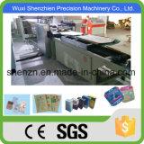 Estándar de Control PLC de SGS Bolsa de papel Kraft marrón que hace la máquina