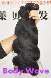 Естественное бразильское выдвижение 100% человеческих волос волос девственницы Lbh 037
