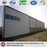 Atelier professionnel de structure métallique de lumière de coût bas de Chine