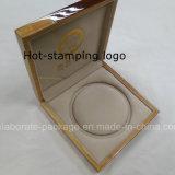Moda encargo del regalo de la joyería de madera Peal collar caja de empaquetado