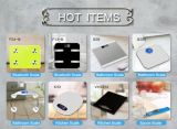 짜임새 디자인 전자 체지방 디지털 유리제 목욕탕 무게를 다는 가늠자