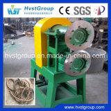 중국은 기계 또는 고무 타이어 쇄석기 기계를 재생하는 고무 타이어를 사용했다
