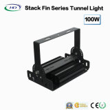 Tunnel-Flut-Licht-Stapel-Flosse-Serie der Qualitäts-100W LED