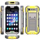 5 pouces 4G Lte IP68 raboteux imperméabilisent Smartphone avec de la mémoire 2+16GB et l'appareil-photo de MP 5+13 et ultra la torche de la lumière DEL