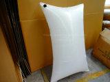 Écart de conteneur coussin tissé en polypropylène blanc bois de fardage sacs à air