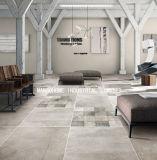 完全なボディー・セメントの灰色の磁器によってガラス化される艶出しのマットの無作法なタイル(壁および床のためのMB69016) 600*600mm