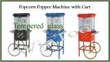 Het 8-ons van de Maker van de Popcorn van Wintoo met Karretje