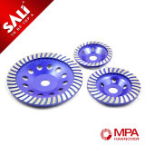 Абразивный диск диаманта Turbo формы чашки Sali 10mm для полировать