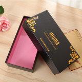 Коробка подарка новой бумаги конструкции твердая с магнитной крышкой и подгонянным логосом печатание