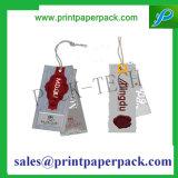 Modifica stampata modifica impressa di attaccatura di carta della mano del documento di marchio