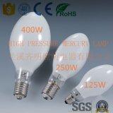 Alta calidad del fabricante mercurio de alta presión de la lámpara para la iluminación exterior