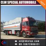 Carro diesel del transporte del carro de la distribución de combustible de Foton Auman 8X4 36m3