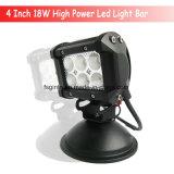 Barre antibrouillard d'éclairage LED de CREE de modèle de RoHS 18W de la CE (GT3400-18W)