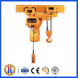 Het Elektrische Hijstoestel van uitstekende kwaliteit van de Kabel van de Draad met het Karretje van het Hijstoestel van Monoral Tral
