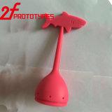 Personalizar o protótipo rápido da fabricação plástica/girar rapidamente o CNC para as peças coloridas do silicone
