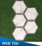 Hexagon-Porzellan Floor&Wall Fliese Kpya23009q-W