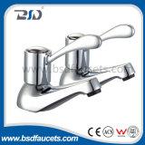 Faucet кухни крана смесителя раковины крома действия рукоятки установленный палубой