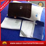 高品質カスタム航空会社の枕は黒を包装する