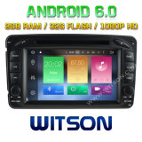 Witson Octa-Core (Eight Core) DVD de voiture Android 6.0 pour Mercedes-Benz C-Class W203 2g ROM 1080P Touch Screen 32 Go ROM
