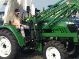 55HP 60HP 70HP 80HP 세륨 A/C 오두막을%s 가진 농업에 의하여 선회되는 농장 트랙터