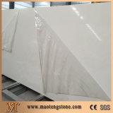Чисто белые большие слябы камня кварца слябов 320X160 искусственние