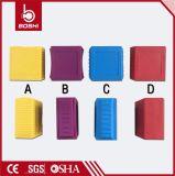 Bd-G14 de la venta caliente de nylon verde grillete del candado de seguridad