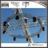 Ферменная конструкция освещения круга алюминиевого Spigot круговая для сбывания