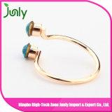 最新の女性宝石類の金指リングのダイヤモンド指輪