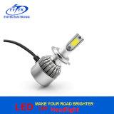 Todos en una lámpara del coche de la linterna 6000k H7 LED de la MAZORCA LED de 36W 3800lm C6
