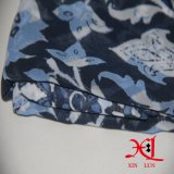Ткань красивейшей одежды платья цифров цветка шифоновой Silk