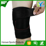 Chemise de support de support de genou pour l'arthrite, ACL, fonctionnement, basket-ball, déchirure de ménisque, sports, sportifs. Enveloppe ouverte de protecteur de rotule, le néoprène