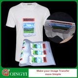 Qingyi t-셔츠를 위한 높은 탄력 있는 열전달 스티커