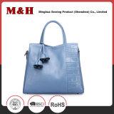 Große Kapazitäts-Normallack-Einkaufen-Leder-Frauen-Handtasche