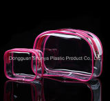 Nueva llegada bolsas de PVC para el embalaje de cuidado de la piel de vinilo Bolsas