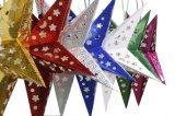 Colgante de Pentagram tridimensional para unas vacaciones decoración (JG679)